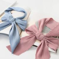 New Simple Pleats Tie Scarf