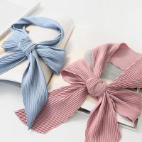 New Simple Pleats Tie Scarf