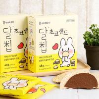 유기농쌀과자 달칩 초코샌드 48g x 3박스(12개입)