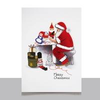 크리스마스카드/성탄절/트리/산타 산타작업실 FS1022-5