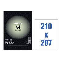 폼텍 A4 컬러 라벨/CG-3130