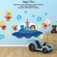 Kids D.I.Y Sticker_주주 별들과 우주여행