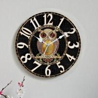 (kjco050)저소음 샤론부엉이 300벽시계 (G)