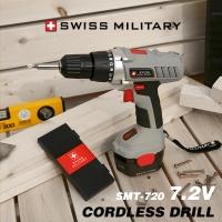 [스위스밀러터리] 충전식 드릴 7.2V/SMT-720