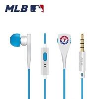 [1+1] MLB 메탈핸즈프리이어폰 - 텍사스레인저스