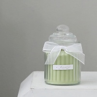 캔디 캔들 240g(그린-피오니)