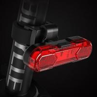 PH 자전거 킥보드 충전식 USB 5핀 LED 후미등 레드