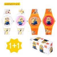 [minions] 미니언즈 캐릭터 손목시계 M1606 4종 1+1