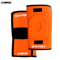 [SMITH] SCABS KNEE GASKET HORSESHOE PADS (Orange)