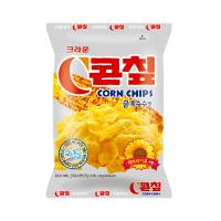 크라운 콘칩 과자 (소) 44g 콘칲