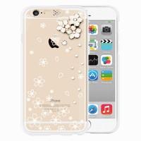 i-phone 6 Clear Cherry blossoms (SWAROVSKI)
