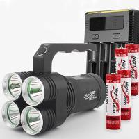 LED 써치라이트 세트 4E85L-i4 264 손전등 8500루멘
