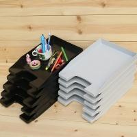 계단식으로 사용하는 보급형 낮은 서류받침-독일 HAN 레터 트레이 Junior 1박스(5개입) 1025
