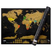 [원더스토어] 럭키스 스크래치 맵 디럭스 Scratch Map Deluxe Edition
