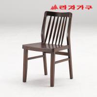 미농 고무나무 원목 식탁 의자 B타입