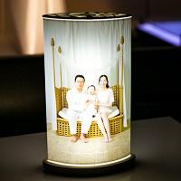 LED [루모램프 우디 마이포토 이미지쉐이드] - 세로형 패키지