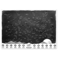 [원더스토어] 럭키스 야광 별자리 지도 Star Map