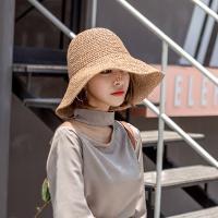막스 와이어햇  밀짚모자 왕골 자외선차단 여름모자
