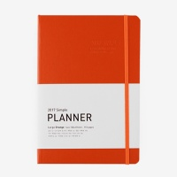 2017 Simple Planner (L) ORANGE (다이어리/플래너/스케줄러)