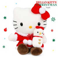 헬로키티 눈사람 봉제인형-소 S(20cm)