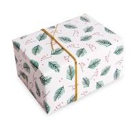 [인디고샵] 포장지 크리스마스 리스 (1개)
