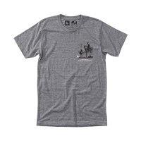 [히피트리] Nomad Tee - Heather Grey