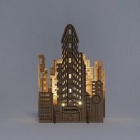 [퍼니피쉬] 크래프트라이츠 - 플랫아이언 빌딩 - LED/Candle