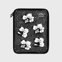 Cookie cream pattern-black(PVC 파우치)