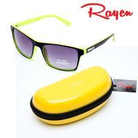 Rayen 레이앙 투톤 썬글라스 RE-0066 그린하드케이스 포함
