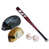 야구세트 키즈+성인세트D 배트색상랜덤 CH1394235