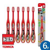토미카 15 유아용 칫솔 STEP2(3~5세) 6P 세트