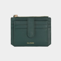 Dijon 301S Flap Card Wallet olive green