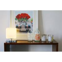 [OR] 미니 LED 슈가 단스탠드 침실 테이블 유리조명