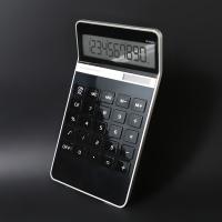 은행업무 사무용 보기편한 LCD 태양열 계산기 EXACT
