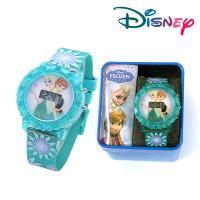 [Disney] 디즈니 겨울왕국 아동 전자 손목시계 (FZN3849)