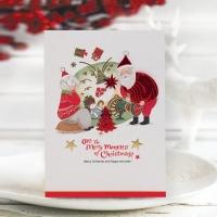 FS1029-2 크리스마스카드,트리,산타,성탄절