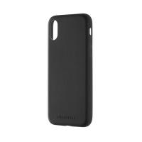 몰스킨 T 아이폰X-북타입 소프트 터치 하드 케이스/블랙