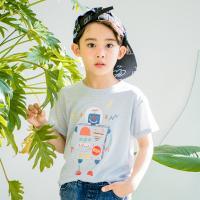 [보니스텔라] 17SS270 로봇 티셔츠