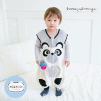 [극세사]ZOO_팬더 극세사수면조끼 유아수면조끼 아동수면조끼