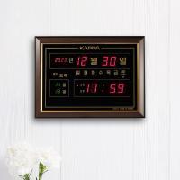 카파 D4410 액자형 캘린더 디지털벽시계