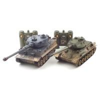 TIGER vs T-34 배틀탱크 RC 세트 (YAK237003SET)