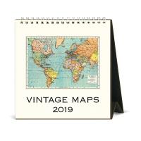 2019 탁상캘린더 Vintage Maps