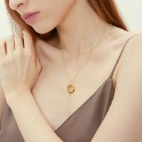 simple wave necklace-S