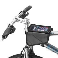 생활방수 자전거 탑튜브 가방 - 스마트폰 거치가능(대만산)