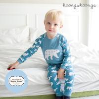 [긴팔실내복]북극곰실내복(밀크블루) 유아실내복 아동실내복