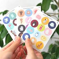 왈가닥스 Befriend Mini Sticker 3set