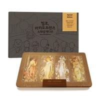 카카오 스페셜 컬러링북+아르누보 72색 틴