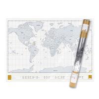 [원더스토어] 럭키스 스크래치 맵 세계지도 클리어