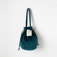 Strap Bucket Bag (Blue Green) - P005B_BG