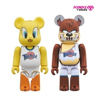 100%BEARBRICK TWEETY&TASMANIAN DEVIL 2PACK(1812017)